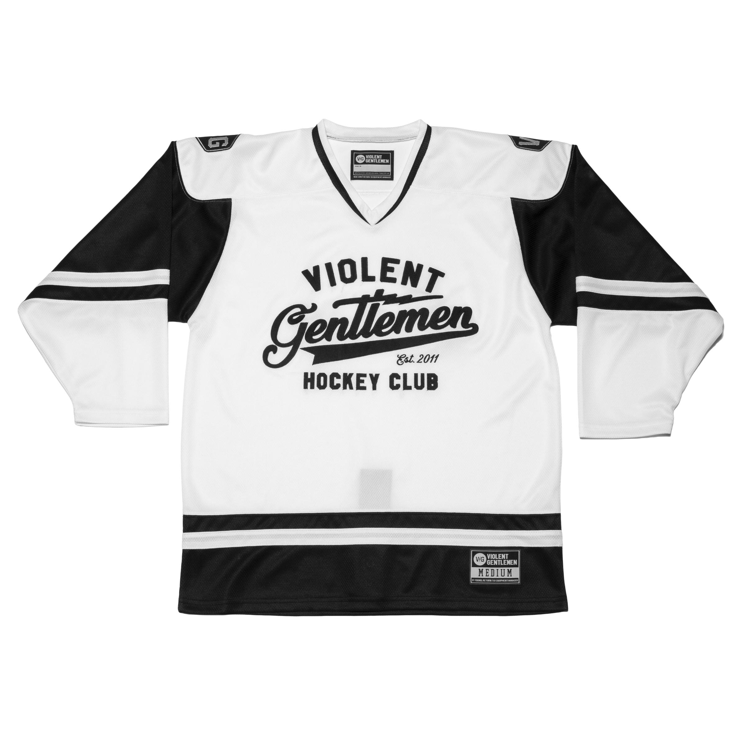 5fc42429 Violent Gentlemen   Brass Bonanza Hockey Jersey