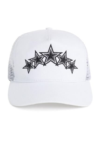 126f4bcd6accf6 Five Star Trucker Hat Black/Neon Yellow – AMIRI