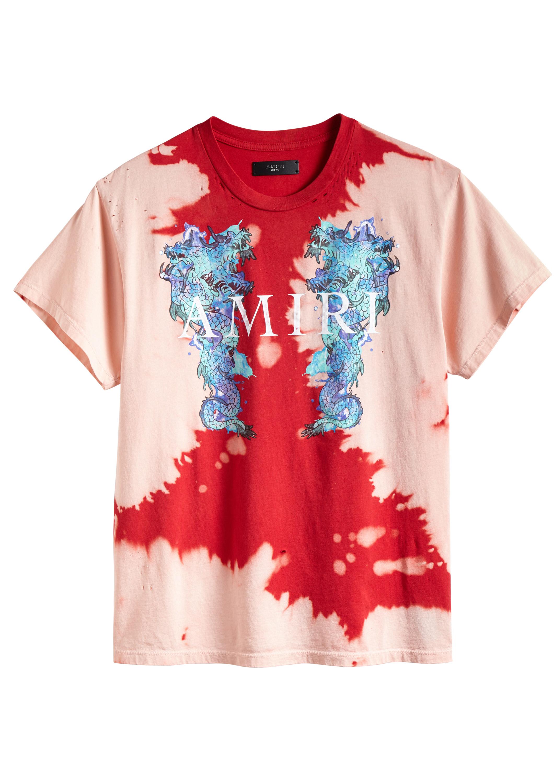 d5a5537c Watercolor Dragon Tee Scarlet – AMIRI